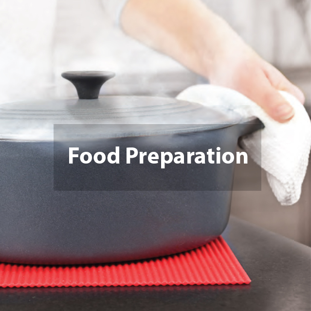 Kitchen tools for food Preparation