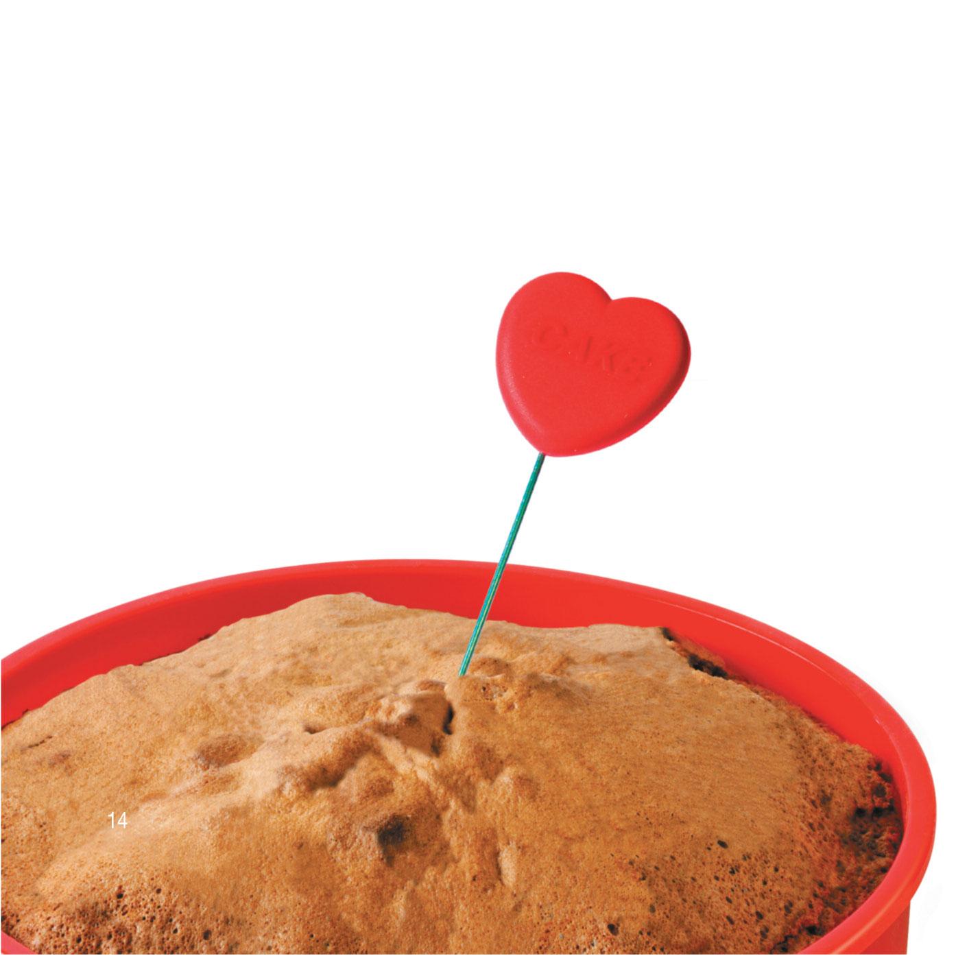 Heart Cake Tester