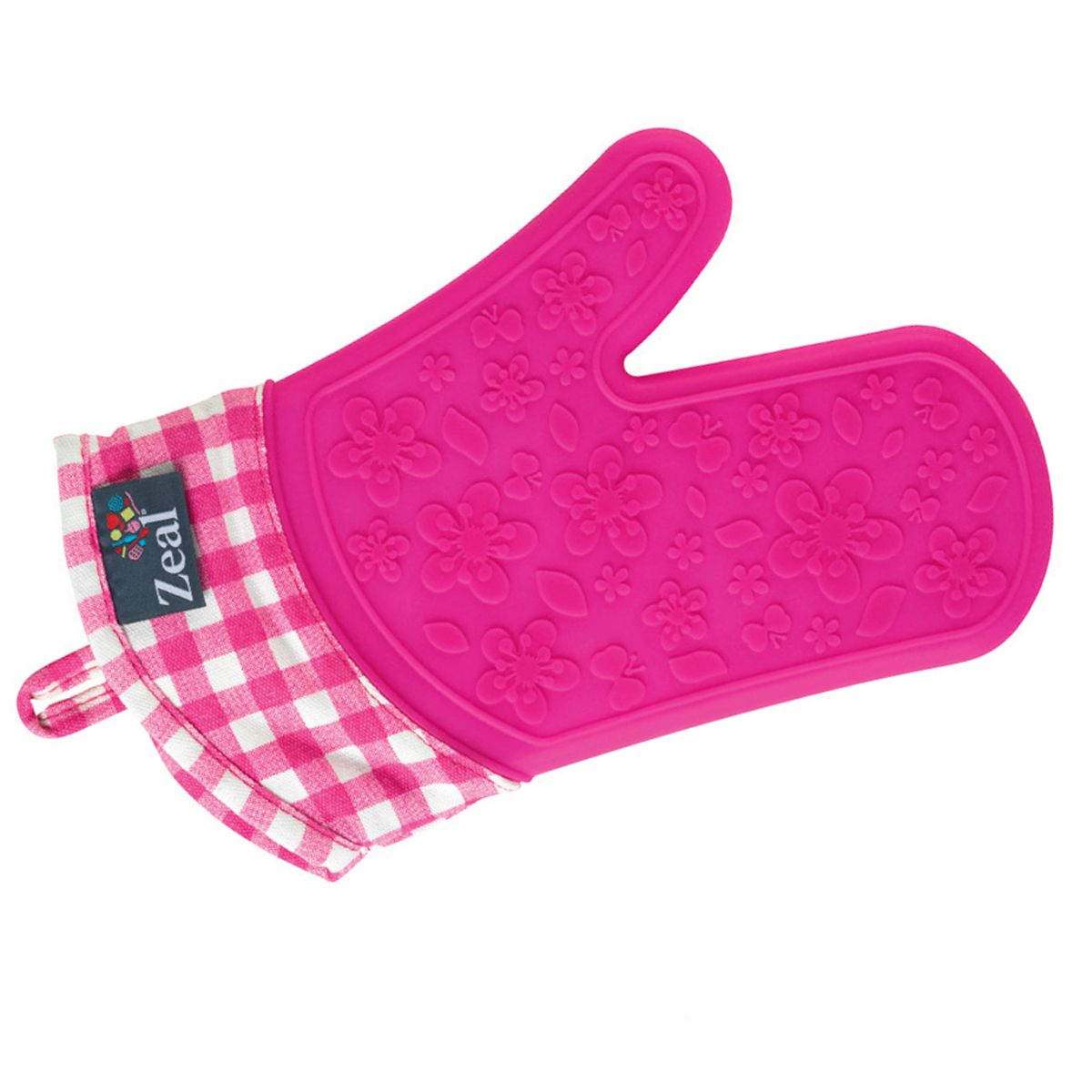 Steam Stop – Waterproof Gingham Oven Glove
