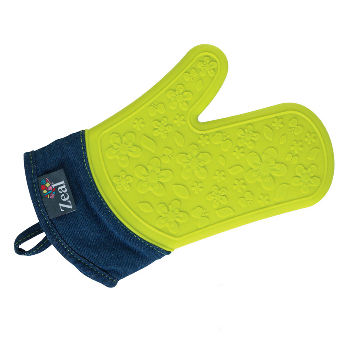 Steam Stop Waterproof Denim Oven Glove