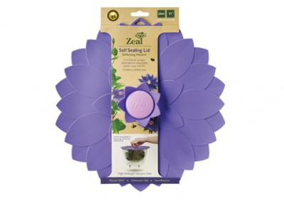 11″ Flower Push to Seal Lid