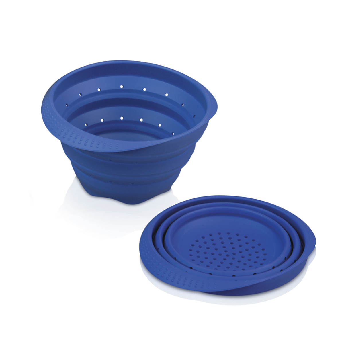 Easy Store Silicone Collapsible Colander
