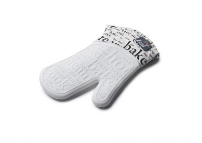 Steam Stop™ Silicone Text Oven Glove