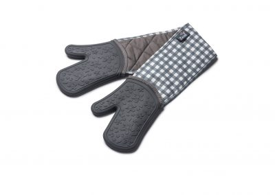 Steam Stop™ Waterproof Gingham Double Oven Gloves