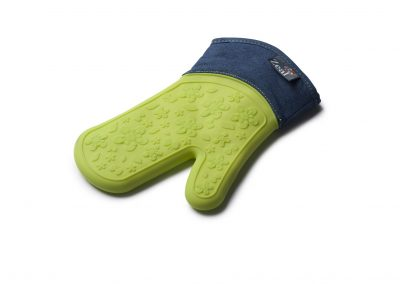 Steam Stop™ Waterproof Denim Oven Glove
