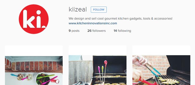 Kitchen Innovations Instagram