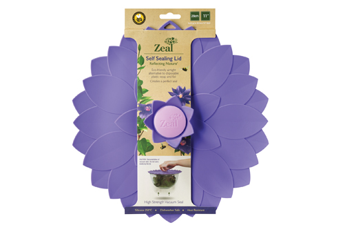 Flower Push to Seal Lid
