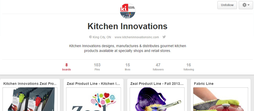 Kitchen innovations Pinterest Page