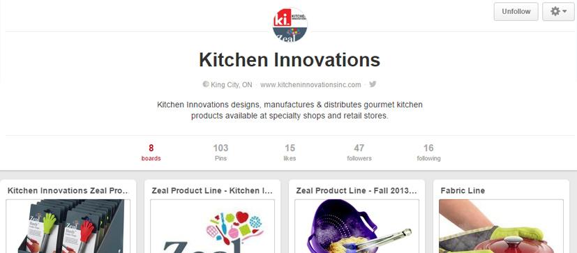 Kitchen innovations Pinterest Page