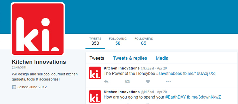 Kitchen Innovations Twitter