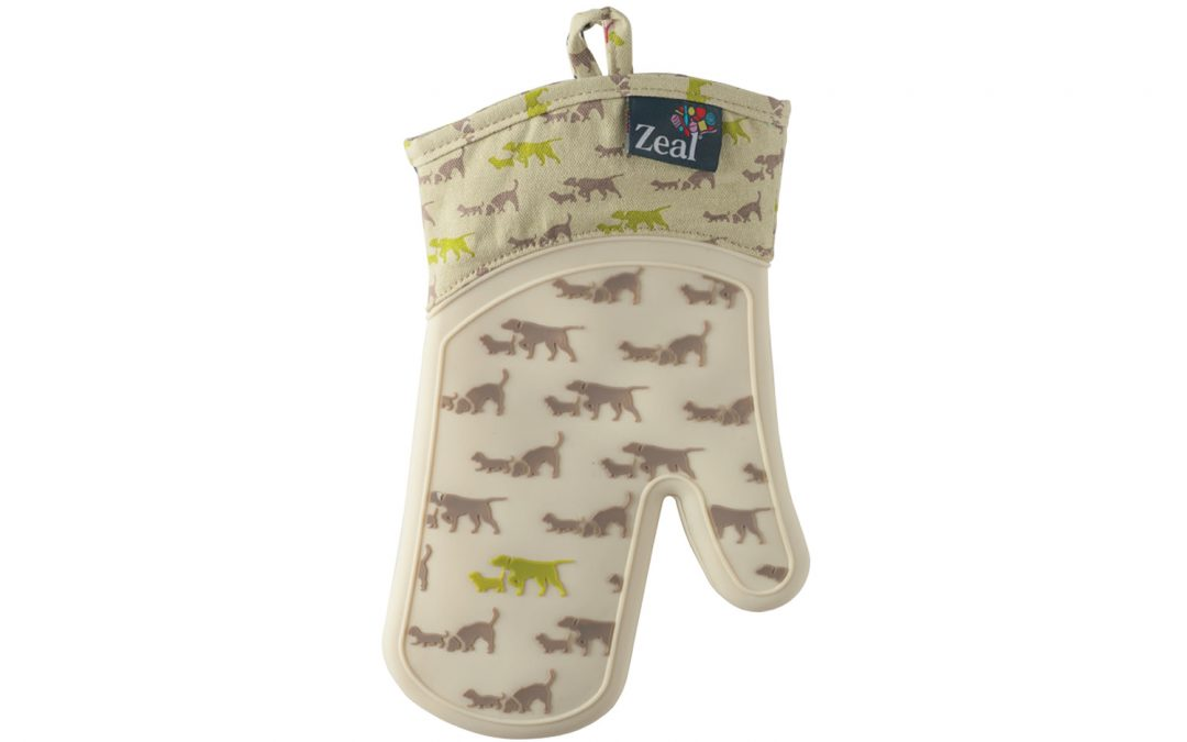 Steam Stop Waterproof Oven Gloves DOG
